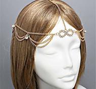 European Style Alloy  Wholesales Hair Chain(Gold,Silver)(1Pc)