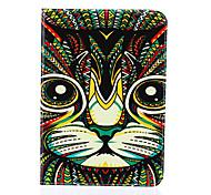 magie motif spider®color chat cuir PU avec support de protection pour onglet de Samsung Galaxy s2 8,0 / s2 9,7