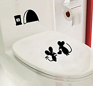 multifunzione pvc del mouse love story adesivi decorativi