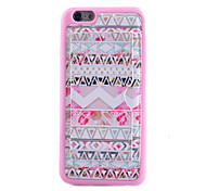 Pink Stripes Card Bracket With TPU Material Phone Case for iPhone 5C