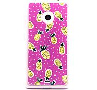 Feel Comfortable Pineapple Pattern TPU Case for Nokia N435/N535/N640