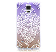 Violet TPU Soft Back Case for Samsung Galaxy Note 5/Note 5 Edge/Note 3/Note 4