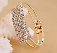 Fashion Jewelry Full Of Rhinestone Square Bracelet