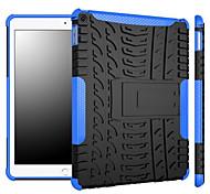 2 en 1 choque duradera armadura a prueba el caso de los neumáticos híbrido para apple ipad 2 de aire de servicio pesado paso atrás