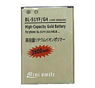 batería de repuesto - 3800 - LG - LG G3 - G4 - No