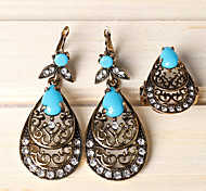 Z&X® Bohemian Water Drop Hollow Out Alloy Jewelry Set Party/Casual 1set