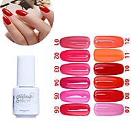 Кусачки для ногтей УФ-гель польский 5ML 1 УФ цветной гель Замочить от Долгое