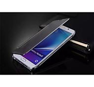 Für Samsung Galaxy Note Beschichtung Hülle Handyhülle für das ganze Handy Hülle Einheitliche Farbe PC Samsung Note 5