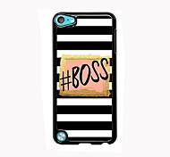 Boss Design boîtier en aluminium de haute qualité pour iPod touch 5