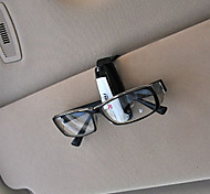 Universal Car Auto Sun Visor Glasses Sunglasses Card Ticket Holder Clip(Random Color)