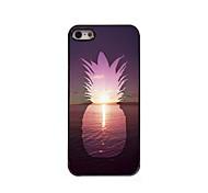 ananas dans le cas de haute qualité en aluminium de conception de la mer pour iphone 5 / 5s