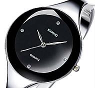 Relogios Feminino KIMIO Women's Fashion Watches Stainless Steel Strap Watch  Ladies Bracelet Watch
