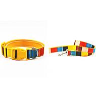 Cat / Dog Collars Yellow Textile / Nylon