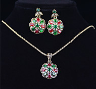 Z&X® Alloy Fashion Elegant Jewelry Set Party/Casual 1set