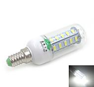 zweihnder e14 7w 800lm 6500k 36 x SMD 5730 llevó la lámpara de luz de maíz de luz blanca (CA 220V)