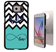 Anchor and Love Design Aluminum High Quality Case for Samsung Galaxy S6 edge