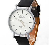 Unisex   Watch Fashion Casual Belt Quartz Watch