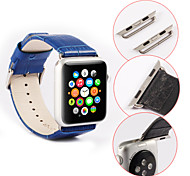 single-buckle Watchband With Connector For Apple iWatch, for Apple iWatch 42mm 38mm