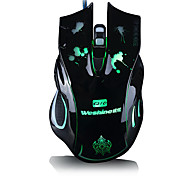 Formula Custom Programming Seven Key Luminous Gaming Mouse(Assorted Colors)