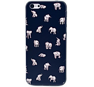 Indian Elephant People Pattern Hard Case for iPhone 5C