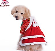 FUN OF PETS® Lovely Christmas Costume Dress for Pets Dogs (Assorted Sizes)