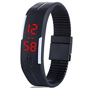 ZIQIAO Super LED Touch Rubber Fashion Watches For Men And Women Couple Watches