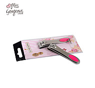 MISS GORGEOUS Portable Stainless Steel Nail Clipper Cutter Trimmer Manicure Pedicure Care Scissors Finger Remover