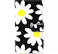 Sunflower Pattern PU Leather Phone Case For Huawei P8