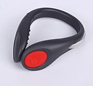 caoku modo 2 luzes 80 farolins / segurança bateria 1 cr2032 fácil de transportar camping / caminhada / ciclismo 200 preto