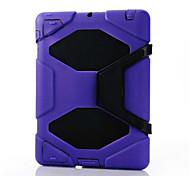 ultimo impermeabile shockproof caso contro lo sporco shell + cintura fondina per ipad 4/3/2 (colori assortiti)