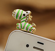 Horse Shaped Alloy Dustproof Plug for iPhone Sumsung