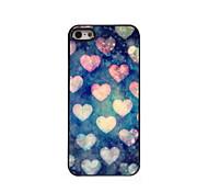 le cas en forme de coeur design en aluminium de haute qualité pour iPhone 5 / 5s