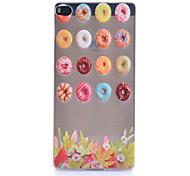Circle Sugar Pattern Thin Transparent TPU Material Phone Case for Huawei  G7/P7/P8