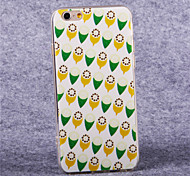 Ice Cream  Pattern Acrylic TPU Soft Cover for iPhone 6
