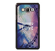 Summer Love Design Aluminum High Quality Case for Samsung Galaxy A3/A5/A7/A8
