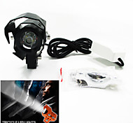 Motorcycle Strobe / New Plug-in Laser Cannon U5S White Highlight 15 W Waterproof Adjustable Guard
