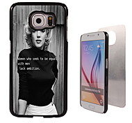 Monroe Design Aluminum High Quality Case for Samsung Galaxy S6 Edge G925F