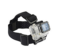 KingMa® Elastic Adjustable Head Strap Mount Belt For GoPro Hero 1 2 3 4 SJ4000 SJ7000 SJ9000 Camera