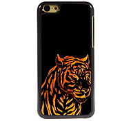 The Tiger Design Aluminum High Quality Case for iPhone 5C