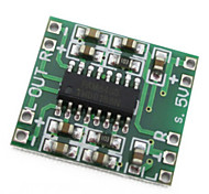 pam8403 ultra-miniatura classe placa amplificador digital de 2 * 3W d 2,5 ~ 5v fonte de alimentação pode ser alimentada via USB