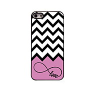 Love and Wave Design Aluminum High Quality Case for iPhone 5/5S