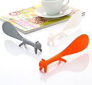 Squirrel Shape Rice Scoop Spoon Paddle Scoop Ladle (Random Color)