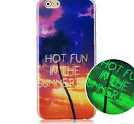 The Setting Sun Pattern Phone Case Back Cover Case for iPhone5C