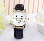 Ladies Lovely Watch Fashion Women Watch Students Wrist Watch Cat Quartz Water Resistant Watch