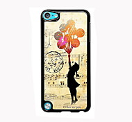 The Girl Design Aluminum High Quality Case for iPod Touch 5