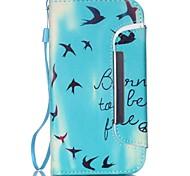 Asuka Muster zwei-in-one-PU-Leder für Samsung-Galaxie s5 s4 s4mini