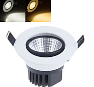 1 pcs Ding Yao 9W 1LED COB 150-200LM Warm White/Cool White Dimmable Ceiling Lights AC 85-265V