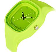 Masculino Relógio Esportivo Relogio digital Quartzo Digital Quartzo Japonês LED Cronógrafo Impermeável Relógio Esportivo PU BandaPreto