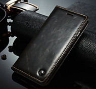 A Leather Wallet Mobile Phone Holster For iPhone 6 Plus/6S Plus