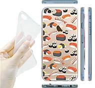 maycari®delicious sushi transparente TPU Tasche für iPhone 6 / iphone 6s